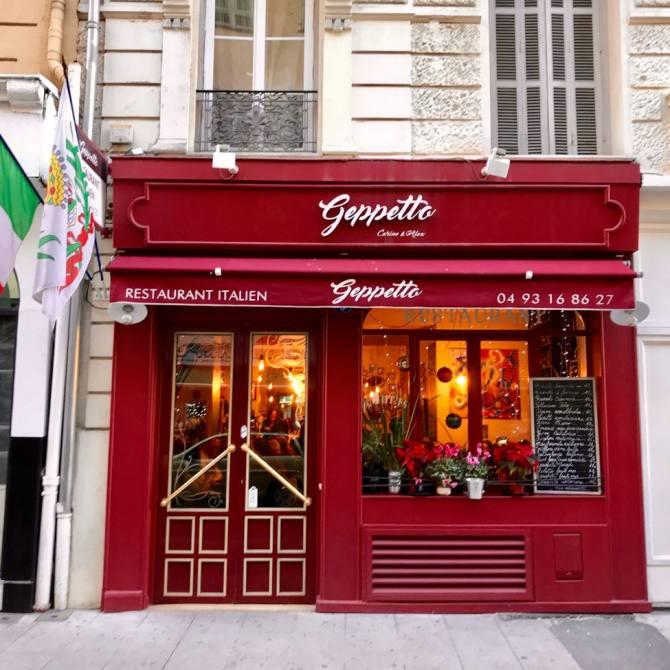 Geppetto, restaurant italien à Nice