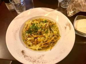 Geppetto, Italian restaurant in Nice (dish)