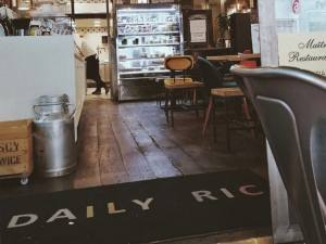 Daily Ric, snack and coffee shop, Nice (interior)