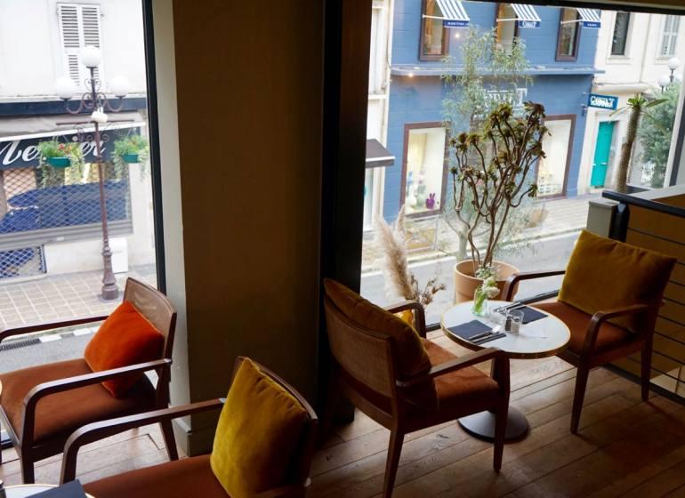 La Casa di Nonna, salon de thé et snacking healthy à Nice (etage)