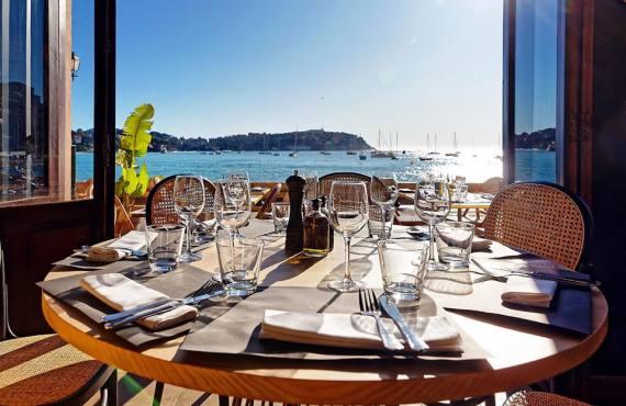Espuma, restaurant méditerranéen à Villefranche-sur-Mer (vue mer)