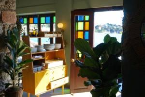 Espuma, mediterranean restaurant in Villefranche-sur-Mer (intérieur)