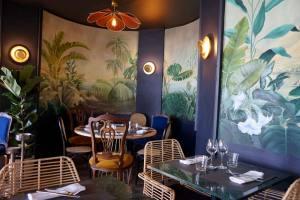 Espuma, mediterranean restaurant in Villefranche-sur-Mer (design)