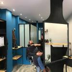 La Moustacherie, salon de coiffure et barbier à Nice