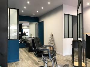 La Moustacherie, barber shop in Nice (interior)