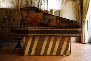 Palais Lascaris, musée baroque dans le Vieux-Nice (clavecin)
