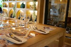 Z-tapas, restaurant de tapas créatives à Nice (grande table)