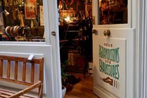 La Cordonnerie du Vieux Nice, réparation et entretien de chaussures (entrée)