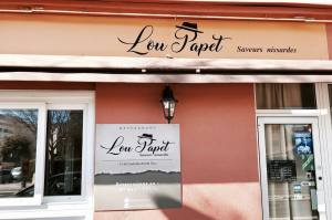 Lou Papet, French cuisine in Nice (frontage)