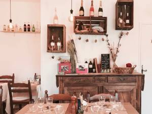 Lou Papet, French cuisine in Nice (interior)