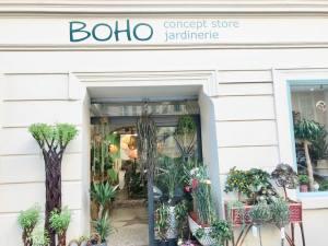 Boho, jardinerie et concept-store végétal à Nice (facade)