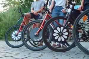 Teebike, roue vélo avant électrique