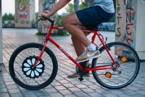 Teebike, roue vélo avant électrique (marguerite)