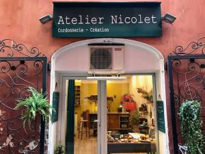 Atelier Nicolet, tailor in Nice (frontage)