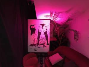 La Boulisterie Club, Bar à boules éphémère au Rosalina à Nice (pink room)