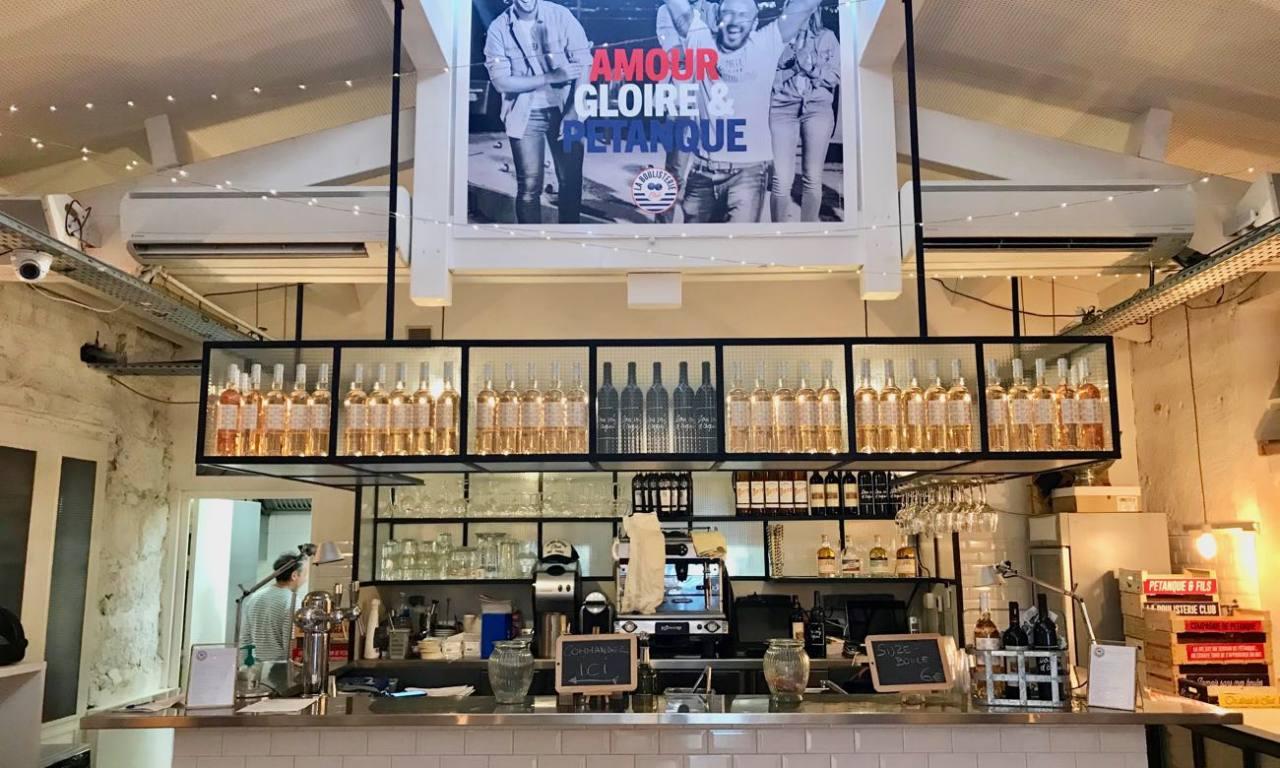 La Boulisterie Club, Bar à boules éphémère au Rosalina à Nice (bar)