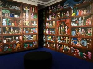 Les Années Joyeuses, exposition Jean Ferrero et ses amis artistes au Musée Massena (moya)