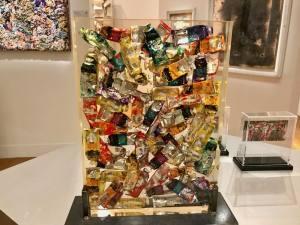 Les Années Joyeuses, exposition Jean Ferrero et ses amis artistes au Musée Massena (Arman)