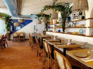 Bocca Nissa, bar à cocktails, restaurant et rooftop sur le Cours Saleya à Nice (salle restaurant)