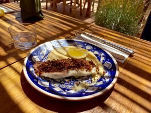 Bocca Nissa, bar à cocktails, restaurant et rooftop sur le Cours Saleya à Nice (poisson)