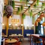 Casa Becchio, bar et restaurant sur la coulée verte à Nice (intérieur))