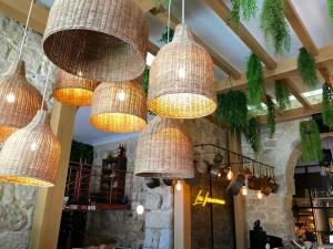 Casa Becchio, bar et restaurant su rla coulée verte à Nice (plafond)
