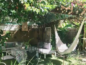 Casa Musa, chambres d'hôtes de charme à Nice (salon de jardin)