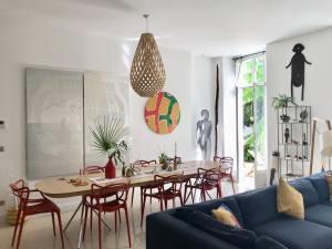 Casa Musa, chambres d'hôtes de charme à Nice (salle à manger)