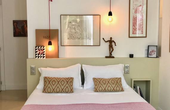 Casa Musa, chambres d'hôtes de charme à Nice (chambre déco)