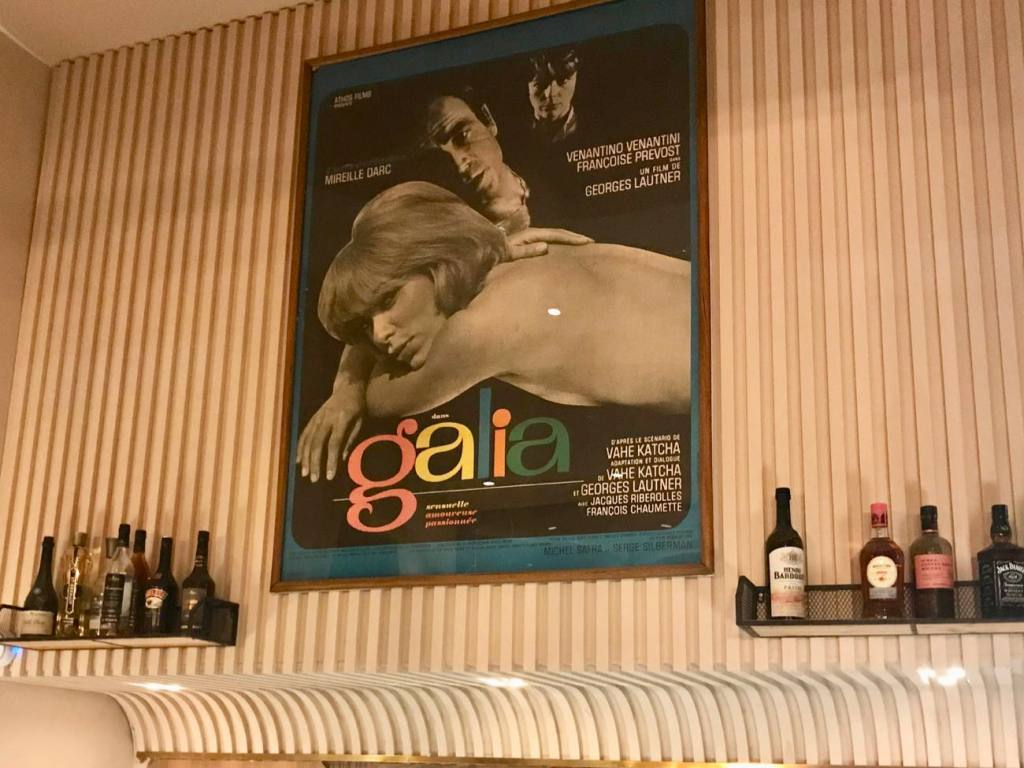 Galia, restaurant in Nice (deco)