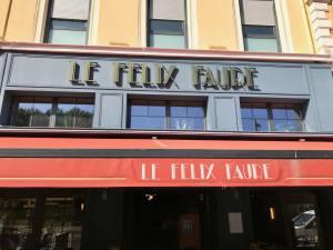 Le Felix Faure, brasserie, Nice, Love-spots (frontage)