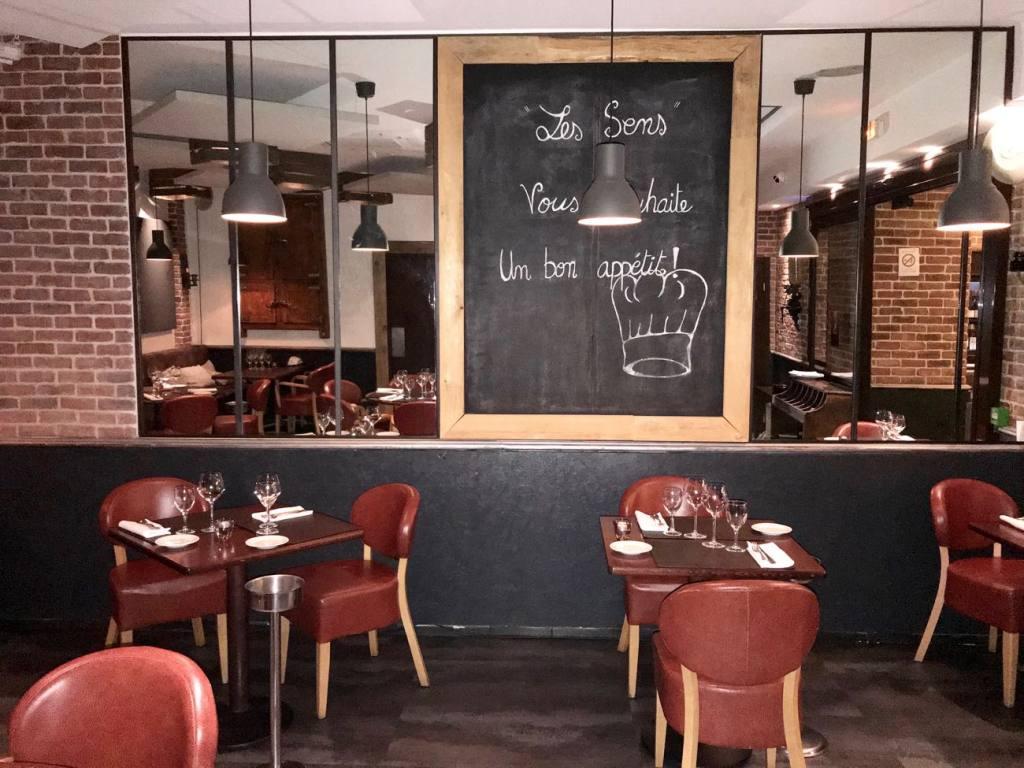 Les sens, restaurant semi-gastronomique à Nice (cuisine française)