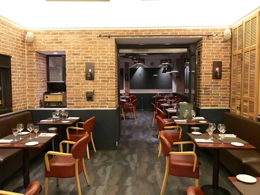 Les sens, restaurant in Nice (interior)