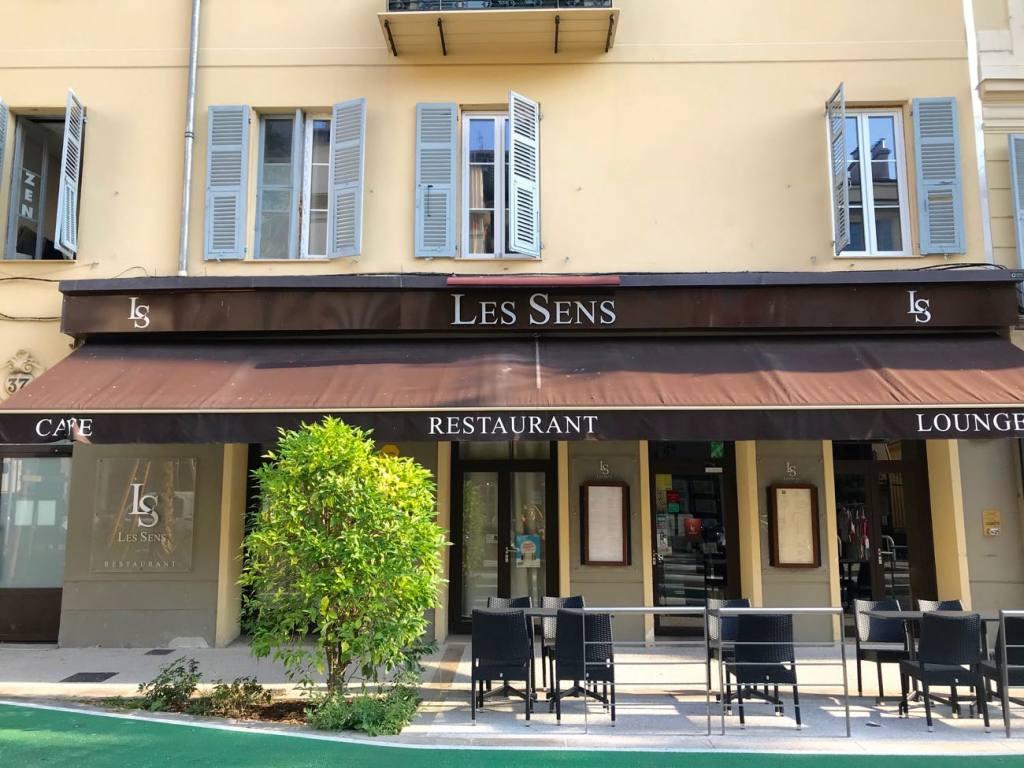 Les sens, restaurant in Nice (exterior)
