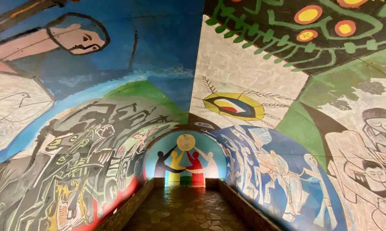 Musée Picasso, la guerre et la paix de Vallauris (chapelle)