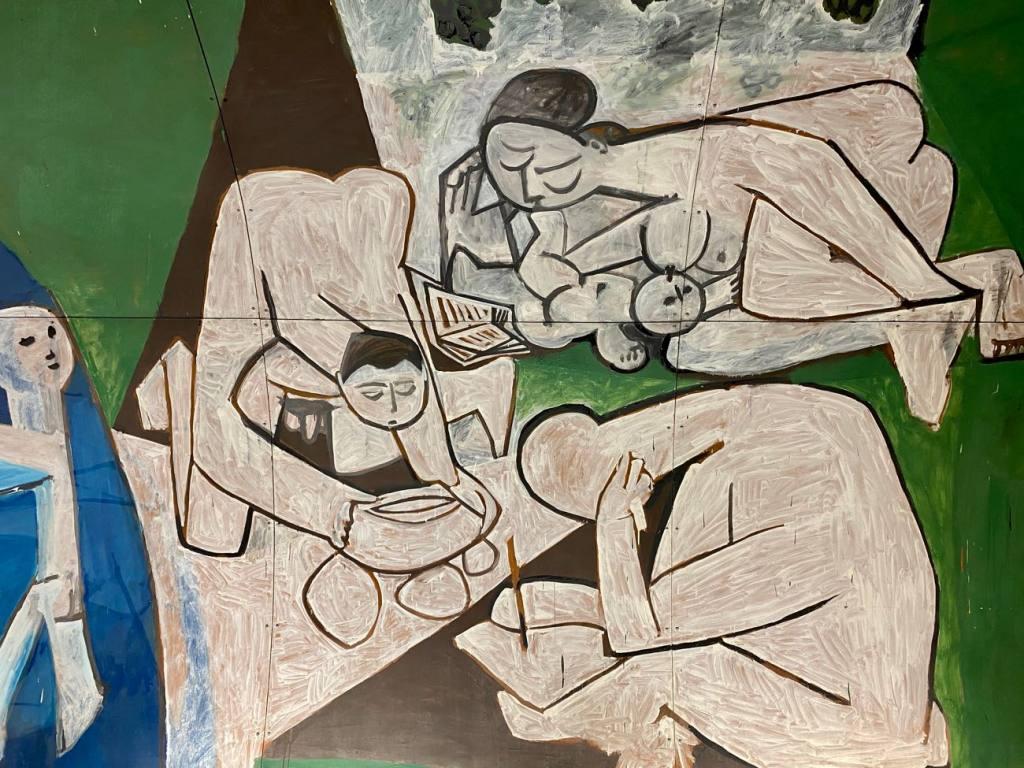 Musée Picasso, la guerre et la paix de Vallauris (détail)