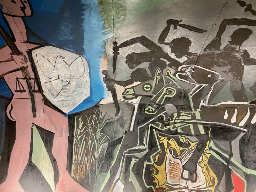 Musée Picasso, la guerre et la paix de Vallauris (painting)