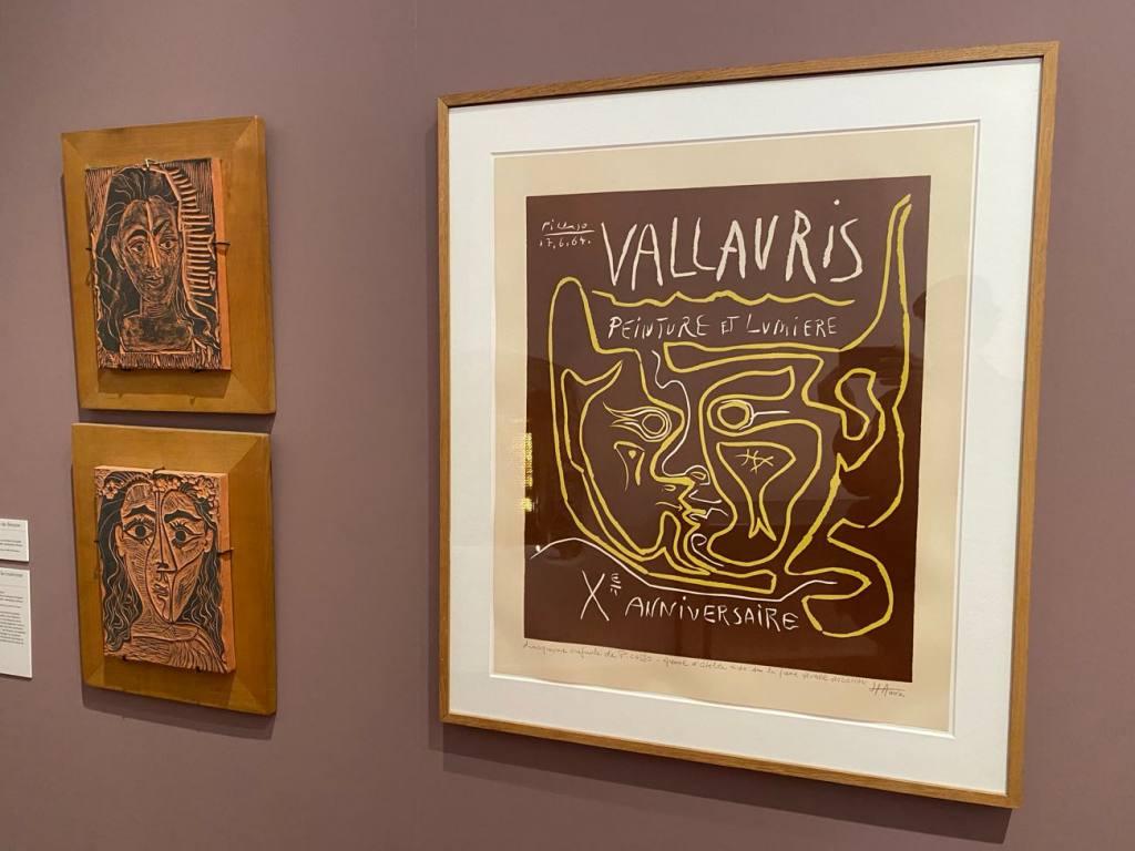 Musée Picasso, la guerre et la paix de Vallauris (linographie)
