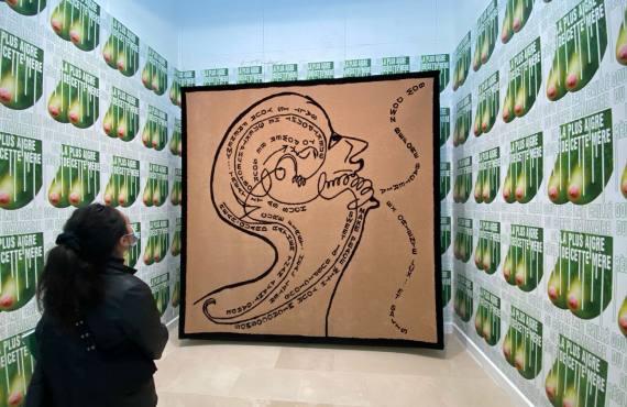 Régions, d'être, exposition de Slavs and Tatars à la Villa Arson dans le cadre de la Biennale Manifesta (salty Sermon)