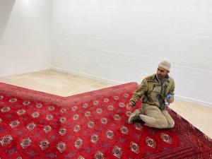 Régions, d'être, exposition de Slavs and Tatars à la Villa Arson dans le cadre de la Biennale Manifesta (Prayway)