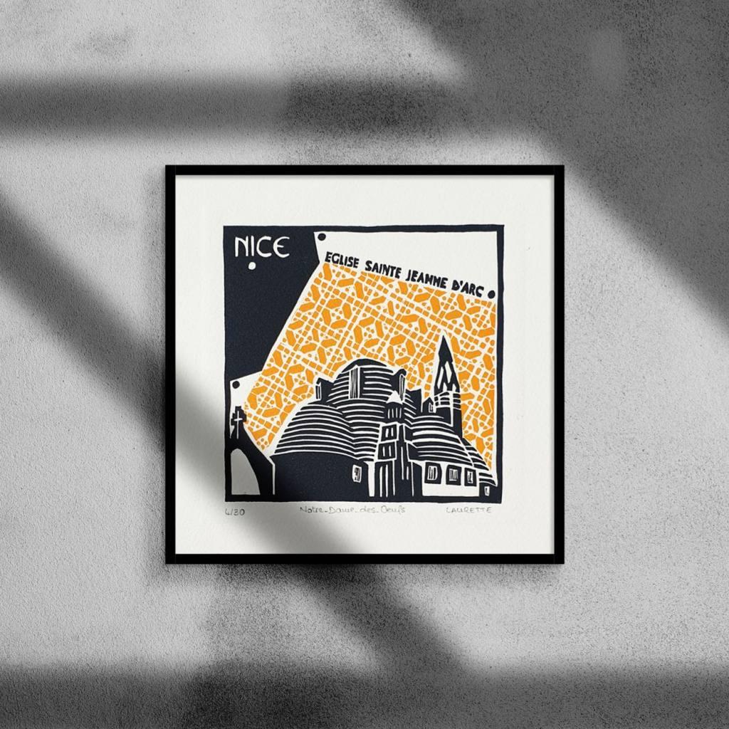 Laurette architecte, illustratrice à Nice (mini archi)