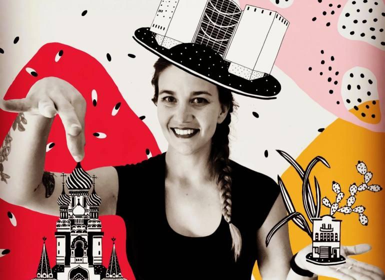 Laurette architecte, illustratrice à Nice (Portrait)