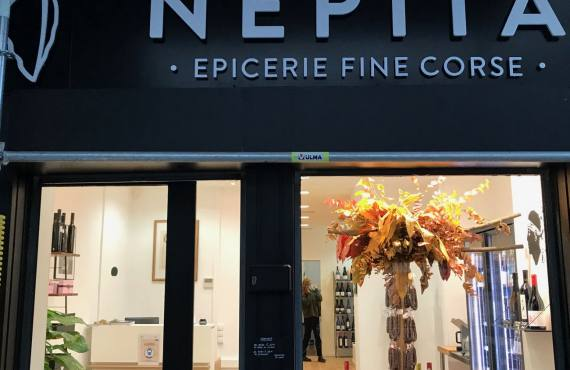 Nepita, épicerie fine de produits corses artisanaux (devanture)