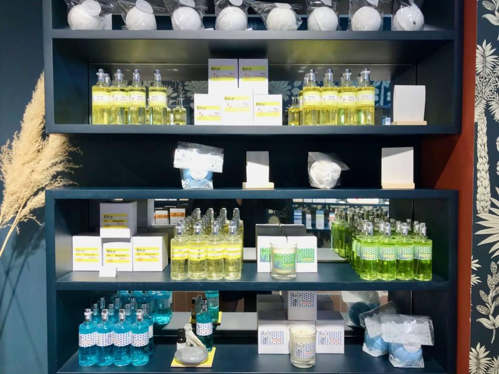 Rivae, perfume creators, Nice (display)