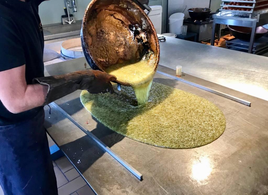 Florian, Confiserie artisanale sur le Port de Nice (pâte)