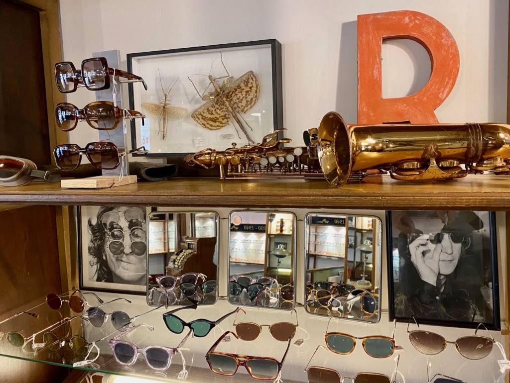 Harrison, opticien et lunetier vintage à Nice (scénographie)