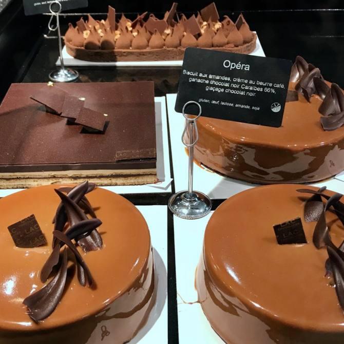 Lac, pâtissier et chocolatier artisanal à Nice (gâteaux)