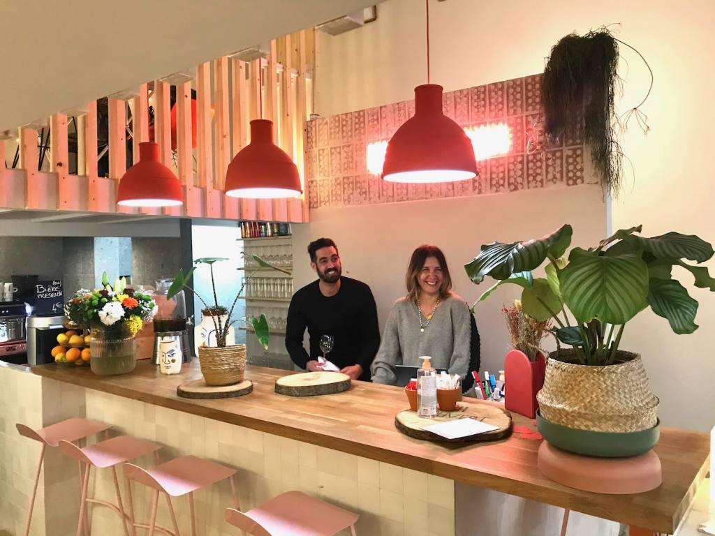 Les Balancelles, restaurant, love spots, Nice (the team)