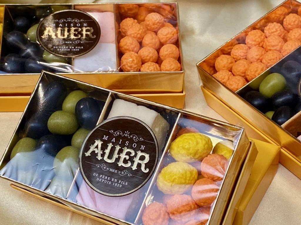 Maison Auer, chocolatier et confiseur à Nice depuis 1820 (coffrets)