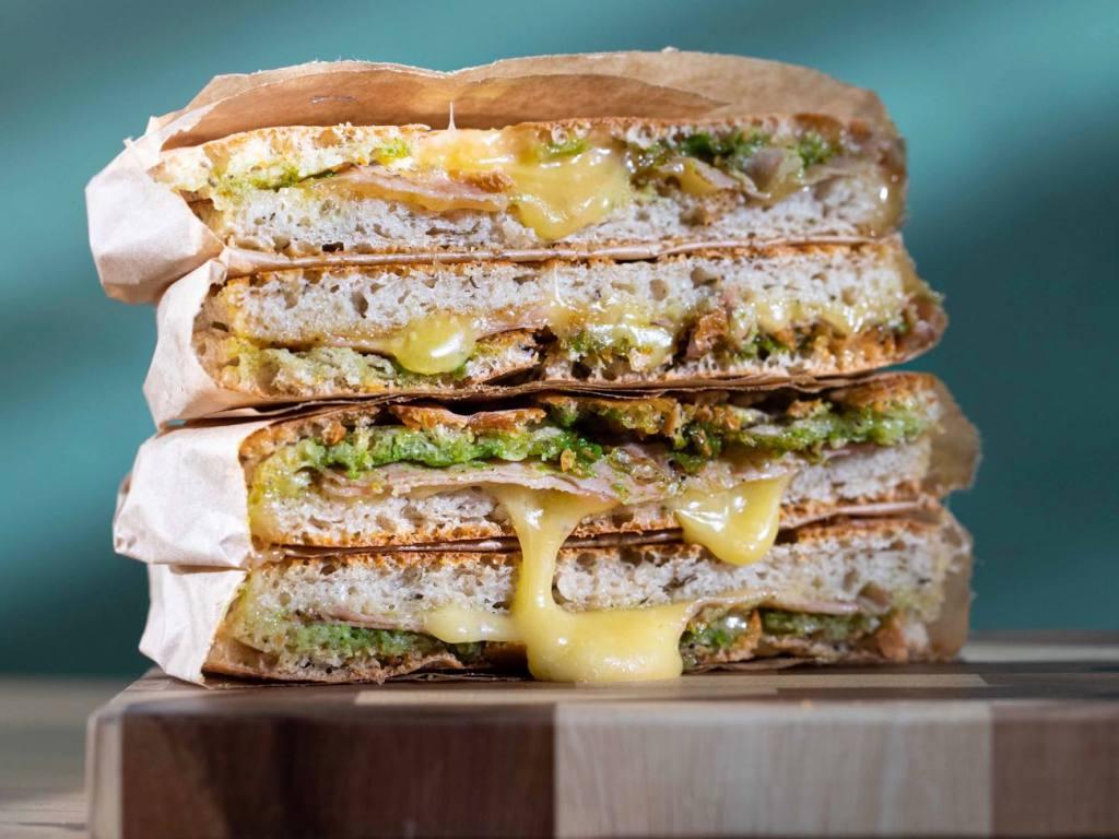 Panivore sandwiches, Nice, Love Spots (bread)